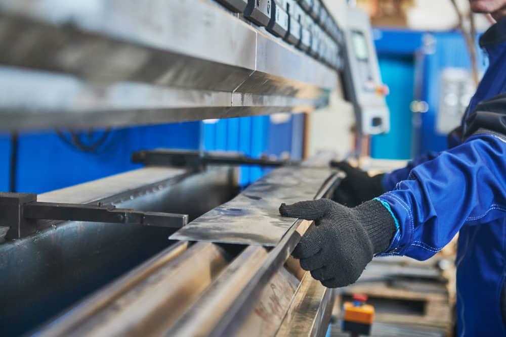 Hydraulikpresse für Metallbleche